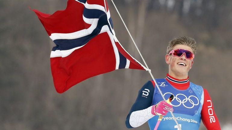 Йоханнес КЛЕБО на Олимпиаде в Пхенчхане. Фото REUTERS