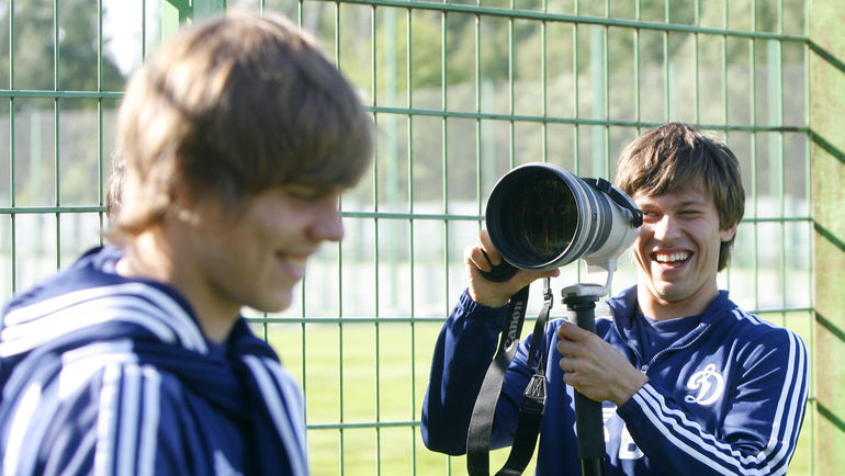 2011 год. Александр КОКОРИН (слева) и Федор СМОЛОВ. Фото Татьяна ДОРОГУТИНА