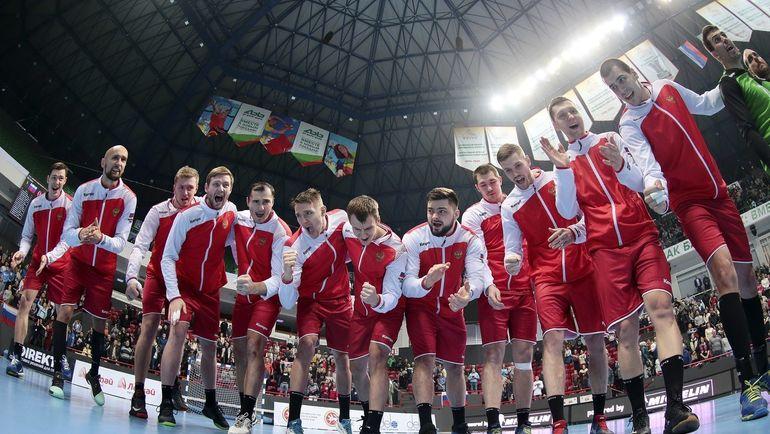 Российским гандболистам осталось сделать два шага, чтобы попасть на чемпионат мира. Фото Пресс-служба Федерации гандбола России