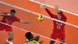 Пятница. Уфа. Сборная России проиграла Бразилии (1:3) в предварительном раунде Лиги Наций.