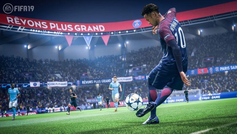 Неймар в FIFA 19. Фото EA Sports