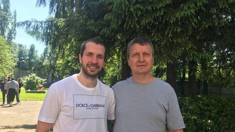Геннадий КУДРИН (справа) и Никита КУЧЕРОВ.