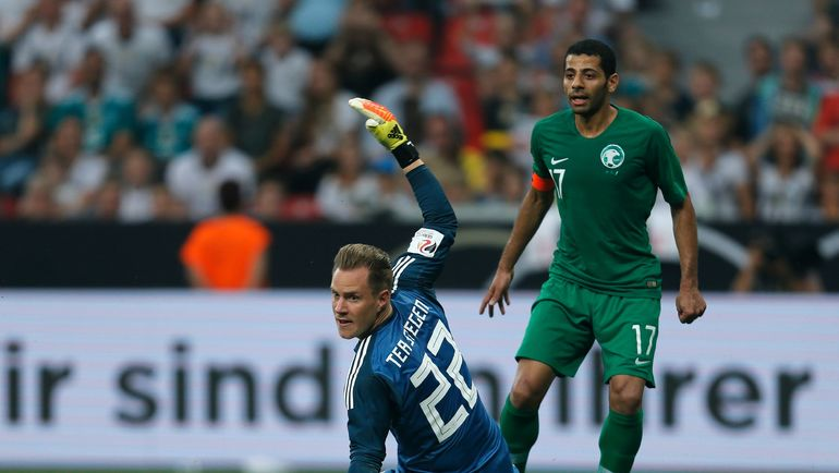 8 июня. Леверкузен. Германия - Саудовская Аравия - 2:1. Аравийцы дали бой чемпиона мира в товарищеском матче. Ну и? Фото AFP