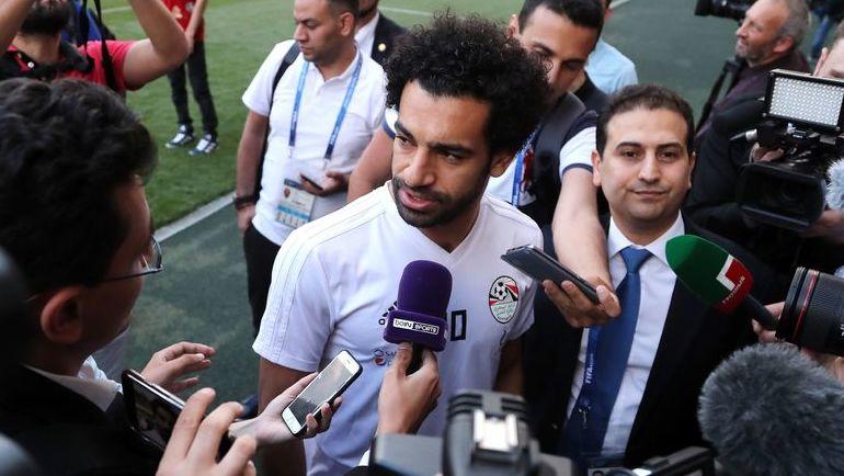 Воскресенье. Грозный. Мохамед САЛАХ. Фото AFP