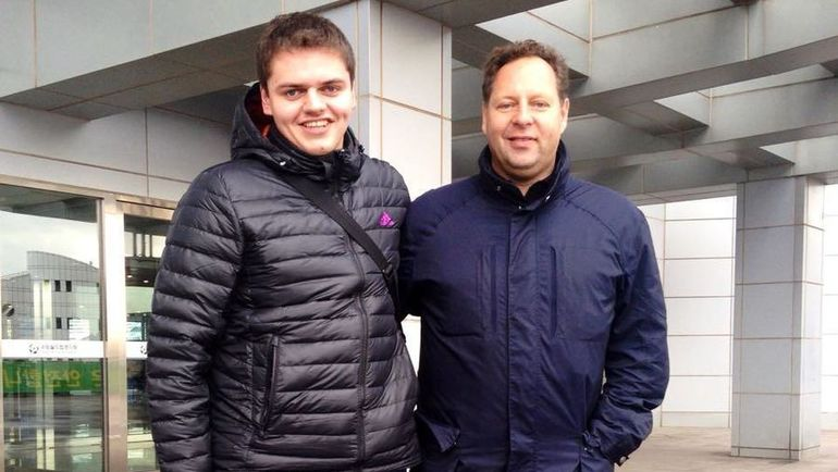 Константин САРСАНИЯ с сыном Денисом.