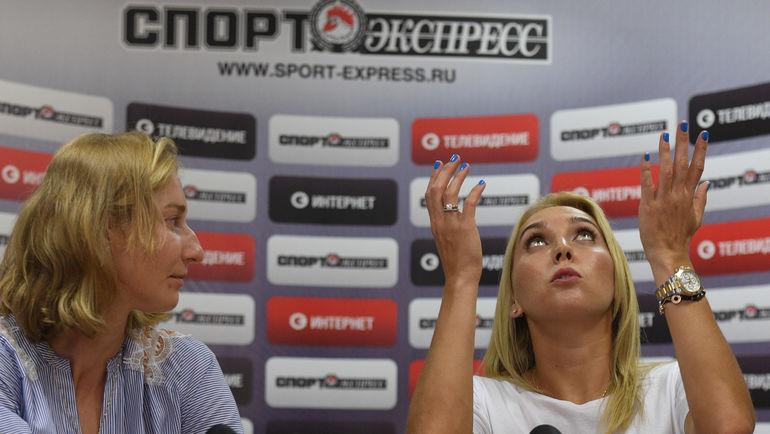 Екатерина МАКАРОВА и Елена ВЕСНИНА (справа). Фото Александр ФЕДОРОВ, «СЭ»