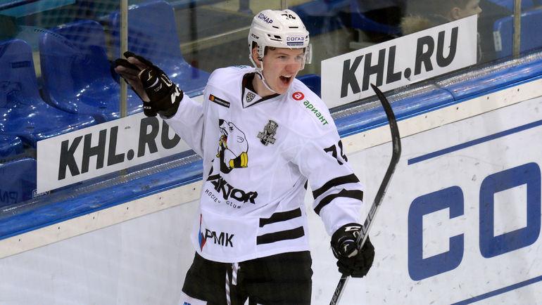 Виталий КРАВЦОВ. Фото Юрий КУЗЬМИН, photo.khl.ru