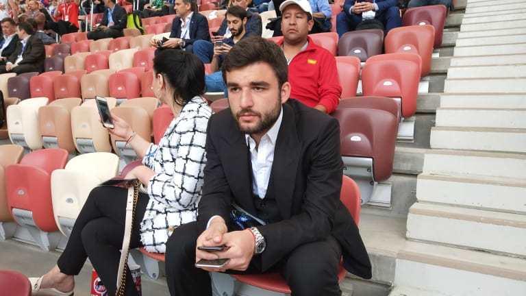 Георгий ДЖИКИЯ. Фото Пресс-служба ФИФА