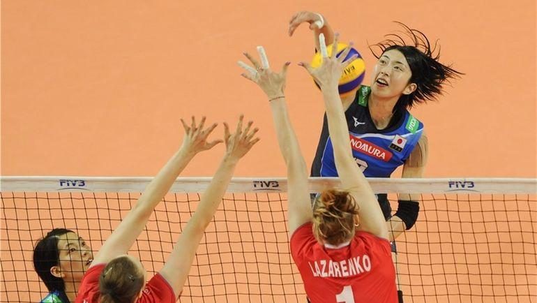 Четверг. Валбжих. Россия - Япония - 3:2. Фото FIVB