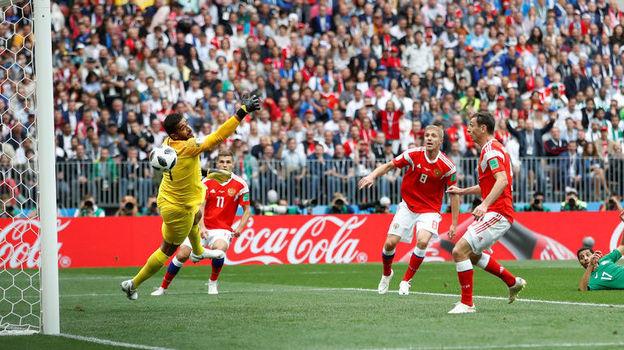 Россия - Саудовская Аравия - 5:0. 14 июня 2018, комментарий о матче чемпионата мира