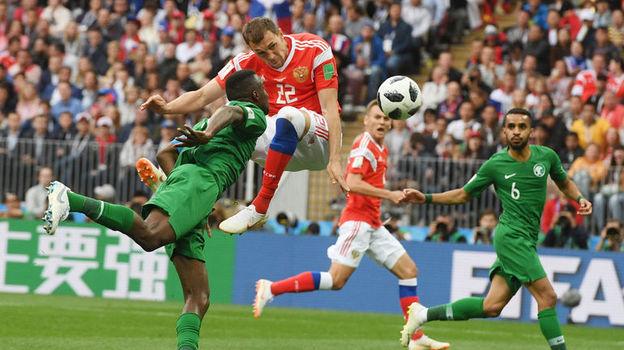 Россия - Саудовская Аравия - 5:0. 14 июня 2018, обзор матча открытия чемпионата мира