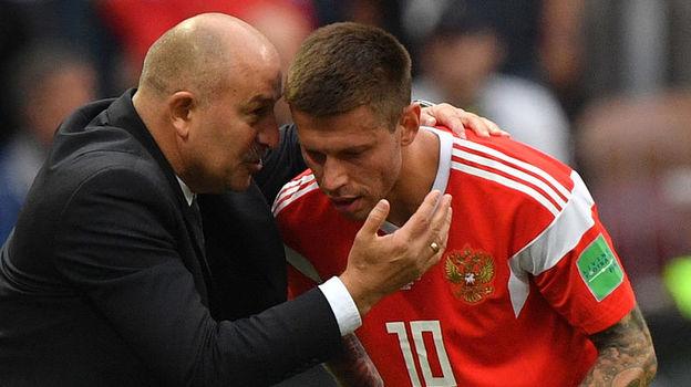 Россия - Саудовская Аравия - 5:0. 14 июня 2018. Что сказал Черчесов после матча