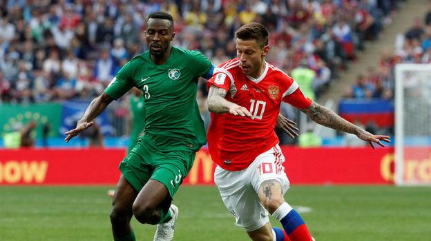 Россия - Саудовская Аравия - 5:0. 14 июня 2018, экспертное мнение о матче чемпионата мира