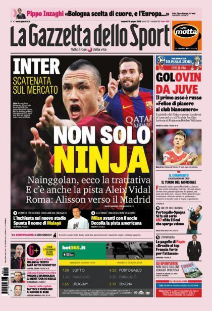 La Gazzetta dello Sport.