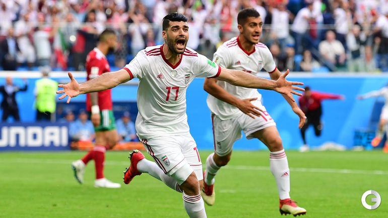 15 июня. Санкт-Петербург. Марокко - Иран - 0:1. Мехди ТАРЕМИ.