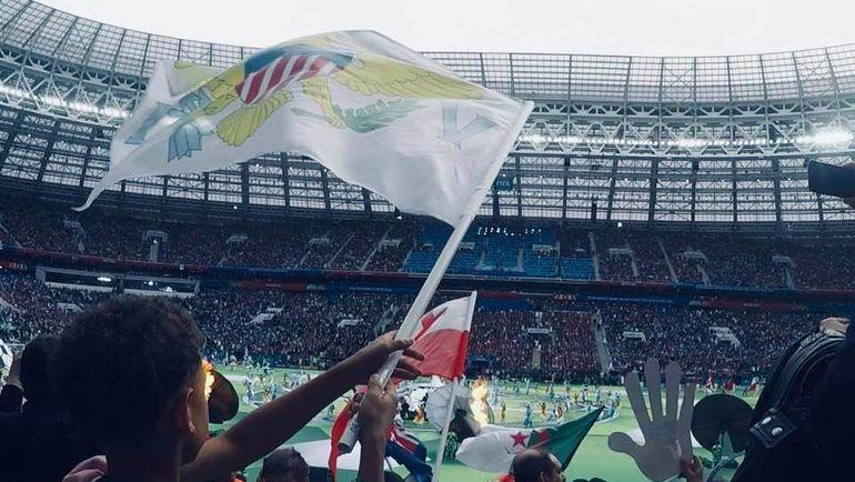Юные послы 211 стран на церемонии открытия ЧМ.