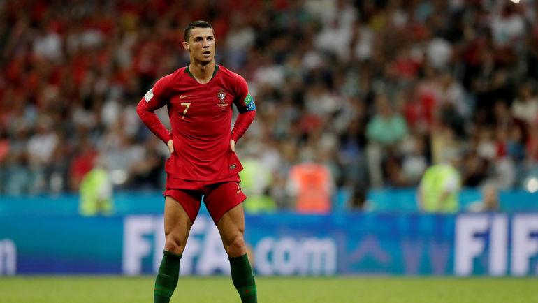 Пятница. Сочи. Португалия - Испания - 3:3. Автор хет-трика КРИШТИАНУ РОНАЛДУ. Фото Reuters