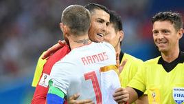 Пятница. Сочи. Португалия - Испания - 3:3. КРИШТИАНУ РОНАЛДУ и Серхио РАМОС.