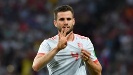 Пятница. Сочи. Португалия - Испания - 3:3. НАЧО празднует гол.