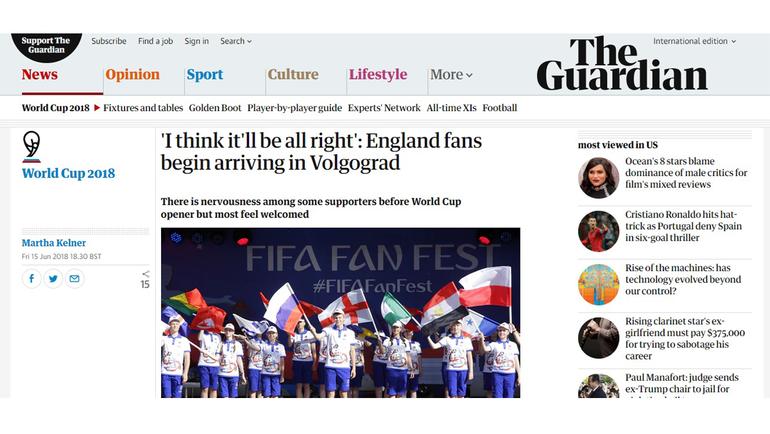 Что пишут зарубежные журналисты о чемпионате мира.
