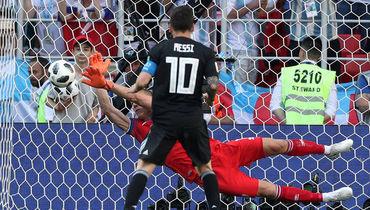 Аргентина – Исландия: ничья в Москве, Месси не забил пенальти