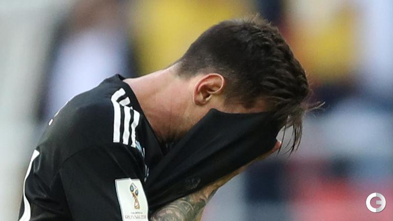 Сегодня. Москва. Аргентина – Исландия – 1:1. Лионель МЕССИ.