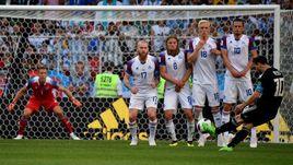 Суббота. Москва. Аргентина - Исландия - 1:1. Лионель МЕССИ и исландская стена.