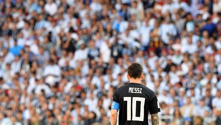 Суббота. Москва. Аргентина - Исландия - 1:1. Лионель МЕССИ. Фото AFP