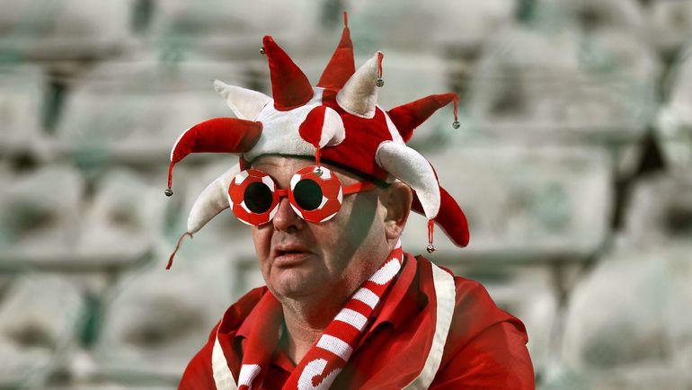 Не все швейцарские болельщики попадают прямо на стадион. Фото AFP