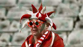 Не все швейцарские болельщики попадают прямо на стадион.