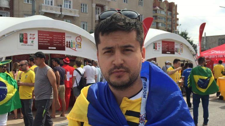 """Павел - болельщик и блогер. Фото Дмитрий ЗЕЛЕНОВ, """"СЭ"""""""