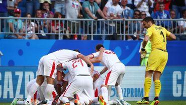 Коста-Рика - Сербия: гол-красавец Коларова принес победу команде Ивановича