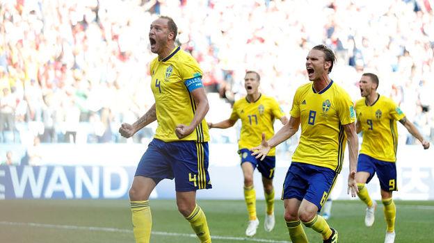 Швеция - Корея - 1:0. Чемпионат мира, 18 июня 2018, обзор матча