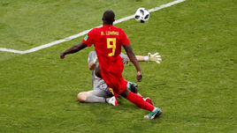 Понедельник. Сочи. Бельгия - Панама - 3:0. Ромелу ЛУКАКУ забивает свой второй гол, доводя счет в матче до крупного.