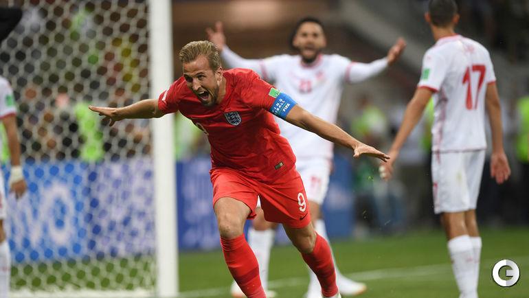 Понедельник. Волгоград. Тунис – Англия – 1:2. Харри КЕЙН только что забил победный гол.