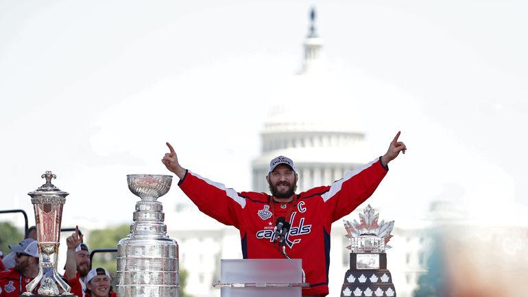 """Капитан """"Вашингтона"""" Александр ОВЕЧКИН. Фото USA TODAY Sports"""