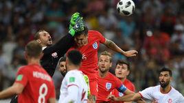 Понедельник. Волгоград. Тунис - Англия - 1:2. В этой игре все решилось в концовке.