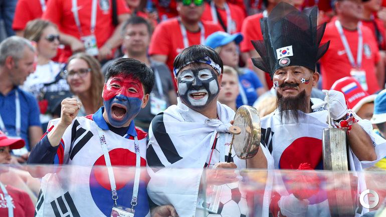 сильная сторона фото болельщиков с матча россия корея последнее время