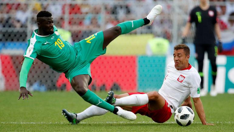 19 июня. Москва. Польша - Сенегал - 1:2.
