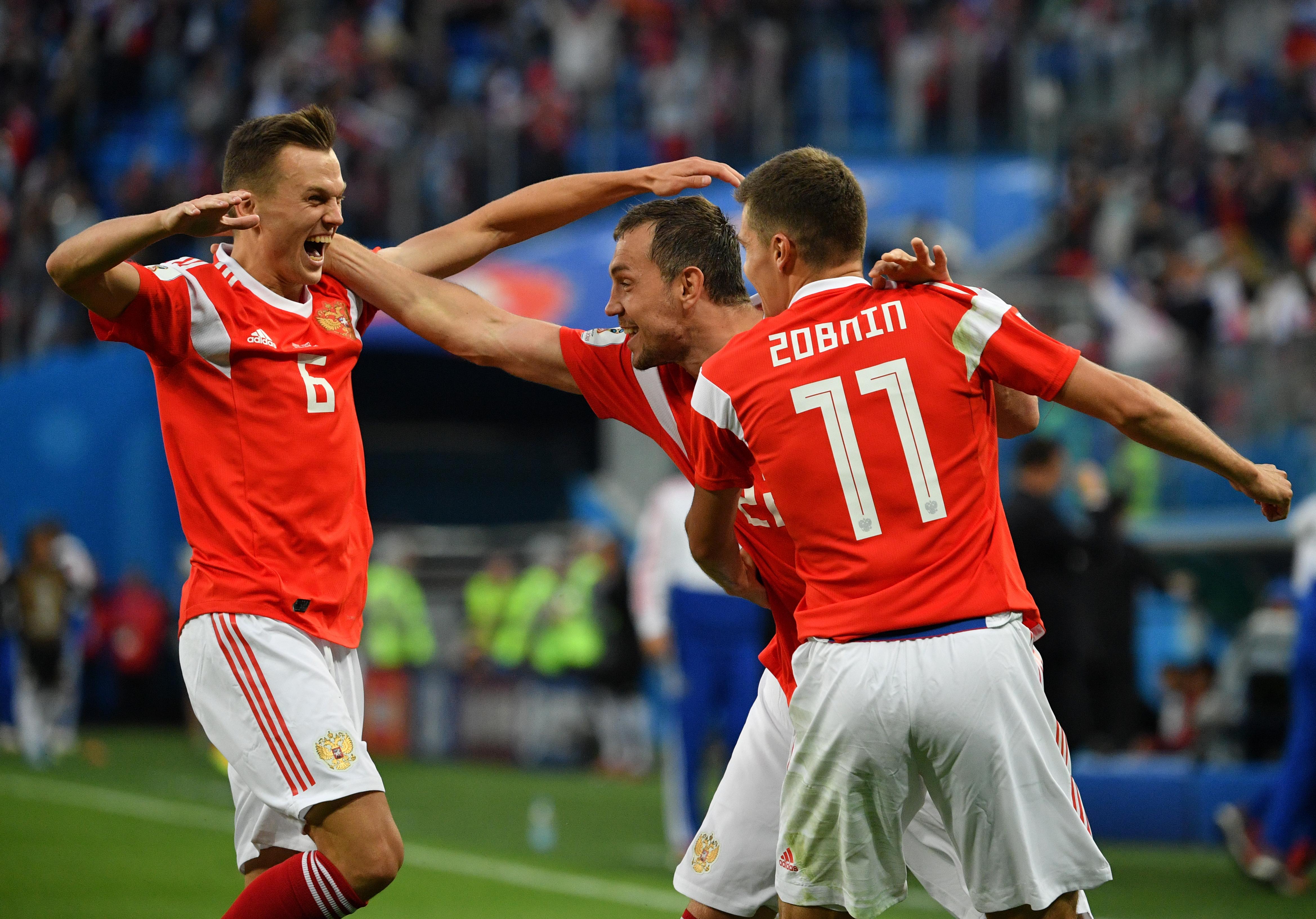Прогноз на матч Россия - Египет 19 июня 2018