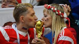 Вторник. Санкт-Петербург. Россия - Египет - 3:1. Болельщики ждут больших побед.