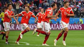 ЧМ-2018. Россия - Египет - 3:1