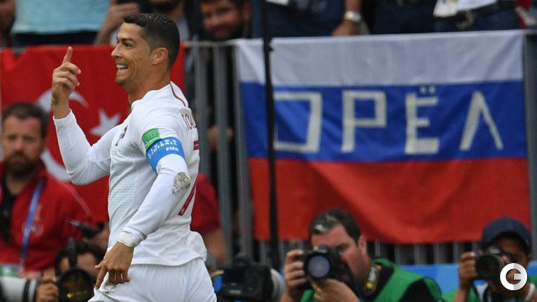 Сегодня. Москва. Португалия - Марокко - 1:0. КРИШТИАНУ РОНАЛДУ.