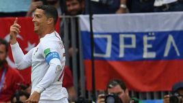 Среда. Москва. Лужники. Португалия - Марокко - 1:0. Криштиану РОНАЛДУ.