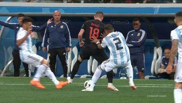 Аргентина – Хорватия: Ирматов ошибся, не удалив Ребича