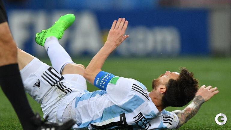 Четверг. Нижний Новгород. Аргентина - Хорватия - 0:3. Лионель МЕССИ.