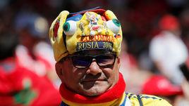 Болельщик сборной Колумбии.