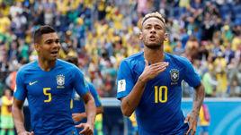 Бразилия повторила российский рекорд. Неймар установил новый