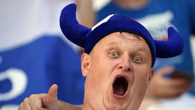 Болельщик сборной Исландии. Фото AFP