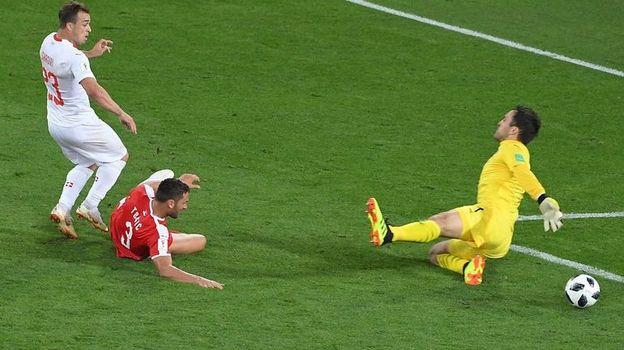 Сербия - Швейцария - 1:2. Чемпионат мира, 22 июня 2018, обзор матча
